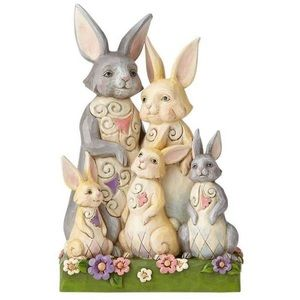 Jim Shore Hares to Family Bunny Family Fig…